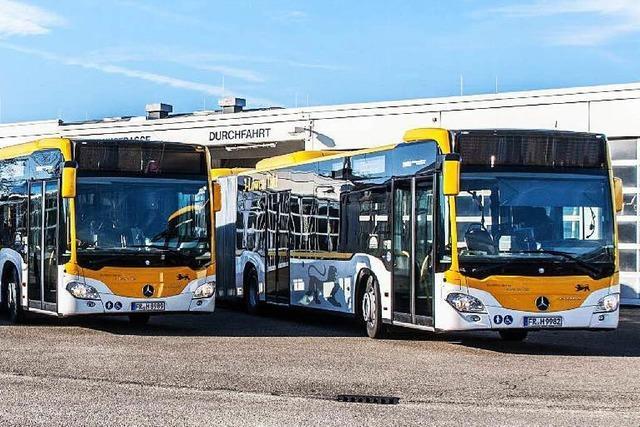 Neue Busse sind auch in Lahr unterwegs