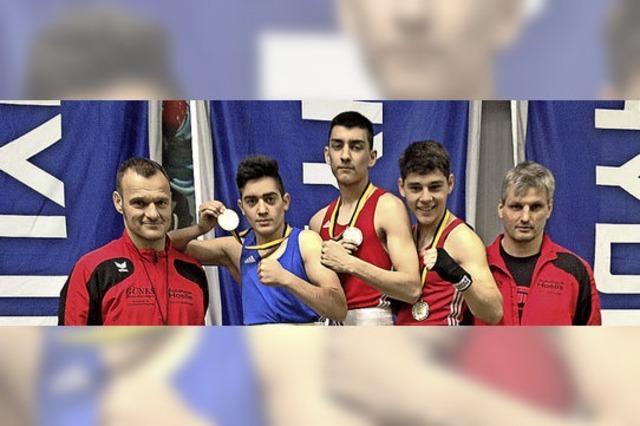 Landesmeistertitel für drei Kämpfer aus Riegel