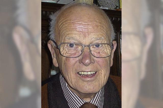 Rudolf Schäfer wurde 80 Jahre