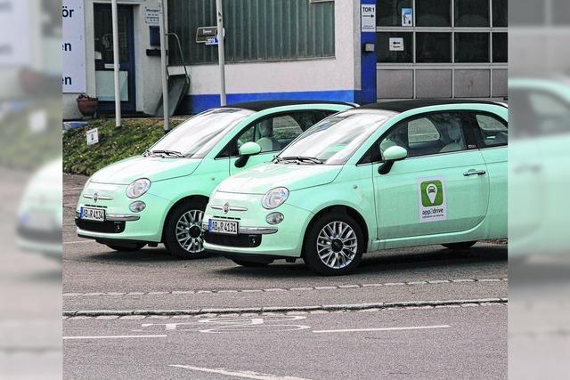 Mehr Autos zum Teilen in der Stadt