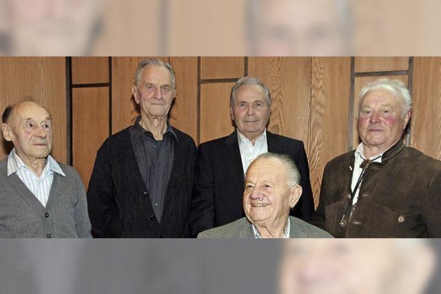 Der Verein wird 65 und sechs Gründer sind noch dabei