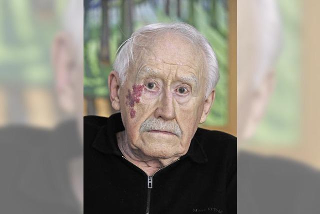 Horst Luppe engagiert sich gegen Krieg und Vertreibung