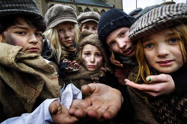 In Großbritannien wird vor den Wahlen über Armut diskutiert