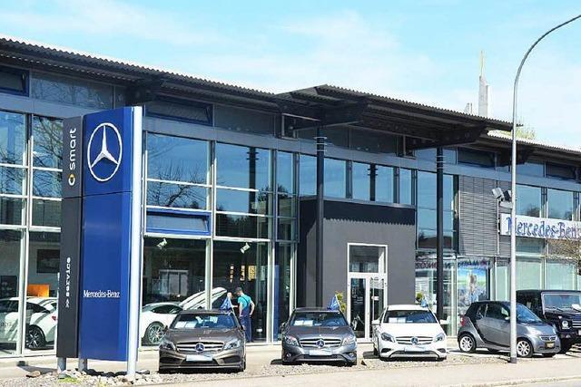 An wen geht die Mercedes-Benz-Niederlassung in Bad Säckingen?