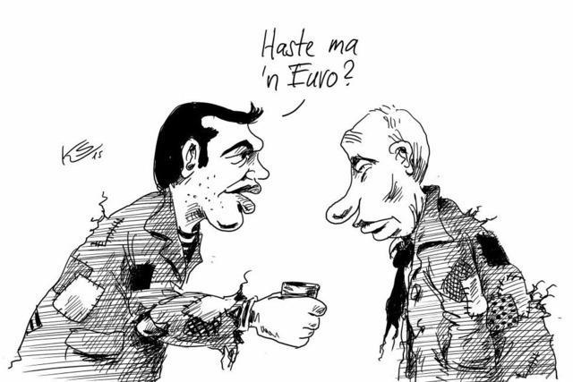 Grieche in Moskau
