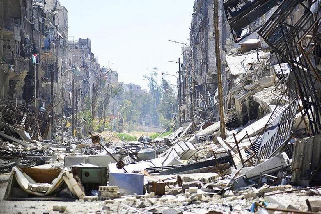 Eine Vorstufe zur Hölle: Belagerungsalltag in Jarmuk