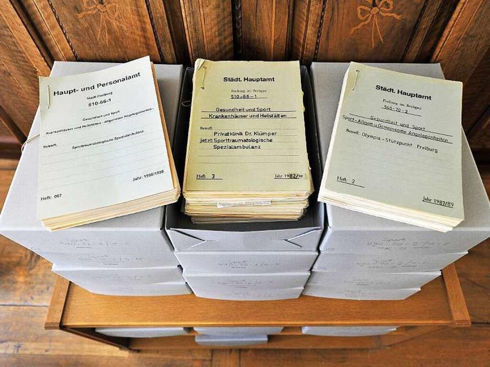 Schriftliche Belege sind für die Bewei...ssion von Letizia Paoli  unerlässlich.  | Foto: Thomas Kunz