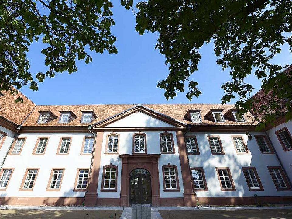 Früher war die Kartaus ein Altenheim, ...s Herzstück des Robert-Bosch-Colleges.  | Foto: Ingo Schneider