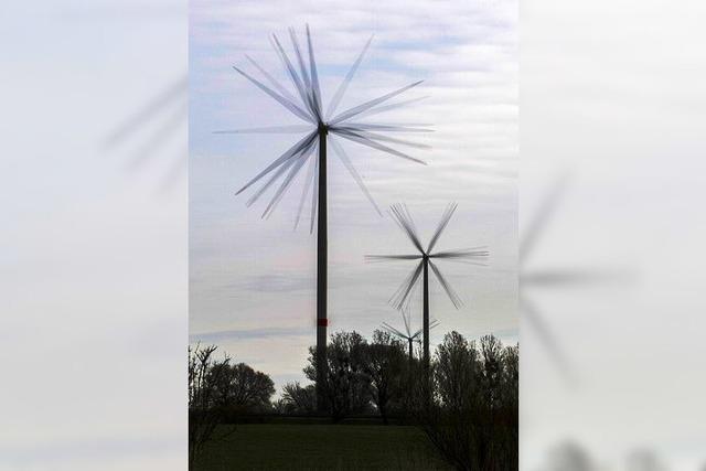 Die Windkraft nimmt Formen an