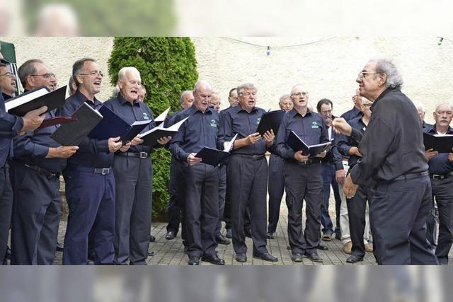 Männerchor trotzt dem Chorsterben