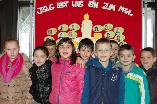165 Kinder gehen in Offenburg zur ersten Heiligen Kommunion