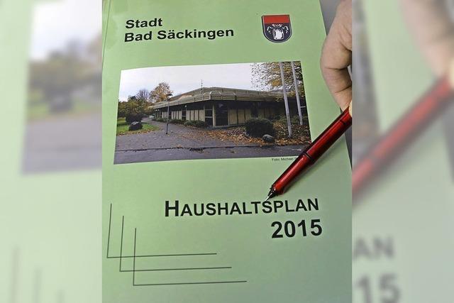 Landratsamt fordert von der Stadt Bad Säckingen strikt zu sparen