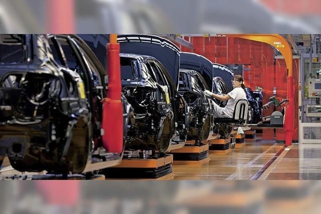 Die Autoproduktion hat sich stark gewandelt