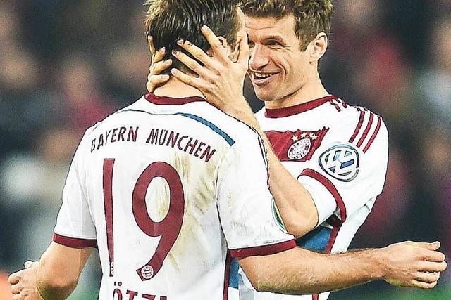 München empfängt Dortmund im Pokal-Halbfinale