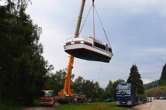 Ausflugsschiff vom Schluchsee startet Saison in Berlin