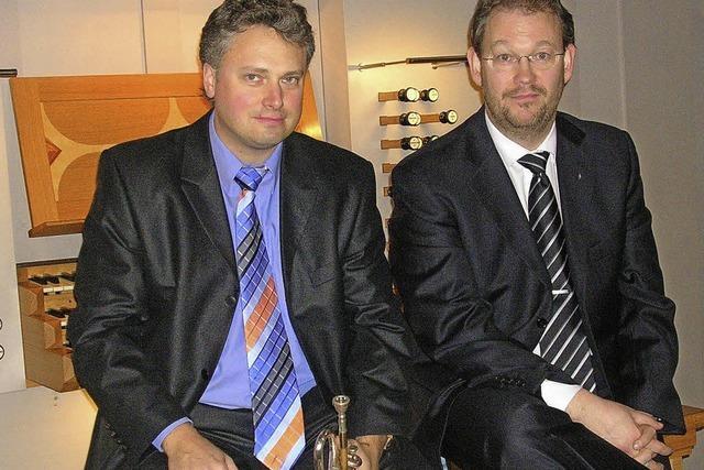 Rudolf Mahni und Carsten Klomp gastieren in der Kirche