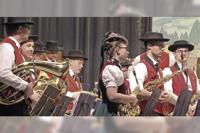 Die Trachtenkapelle St. Peter präsentiert musikalische Vielfalt