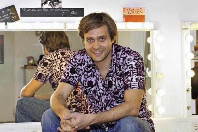 Michael Helten hat für seine Schauspiel-Ausbildung den Lehrerberuf an den Nagel gehängt