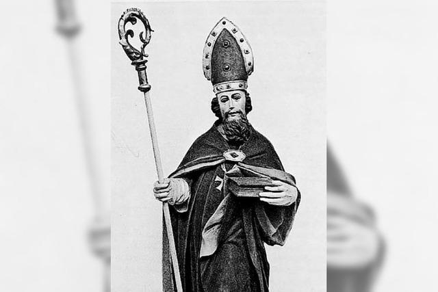 St. Zeno war bescheiden und unerschrocken