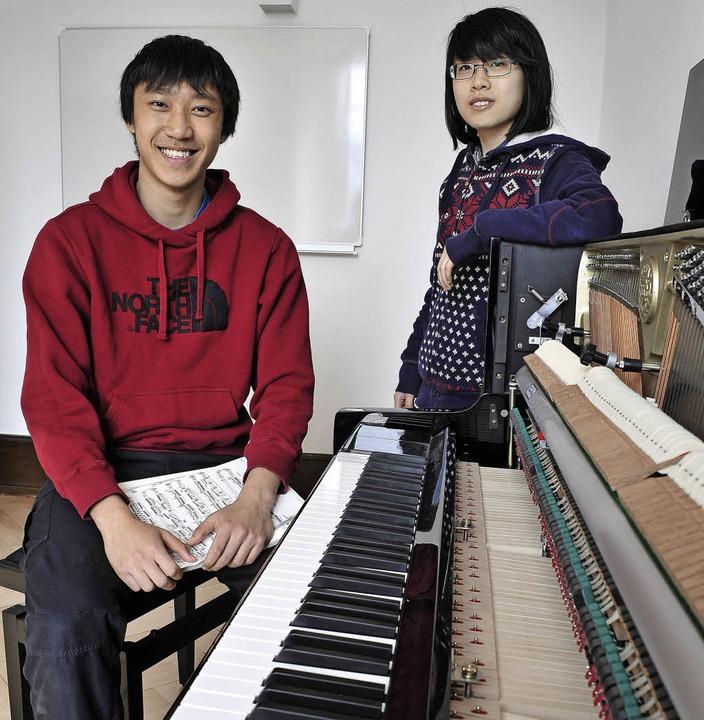 Sheung Lee und Yichao Cheng   | Foto: Thomas Kunz
