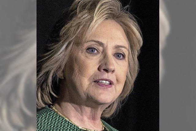 Hillary Clinton bewirbt sich