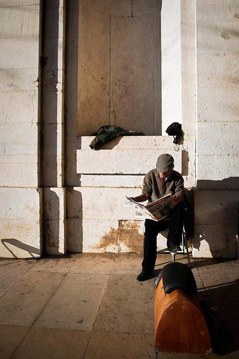 Die Jungen gehen, die Alten bleiben – Portugals Zukunft?   | Foto: AFP