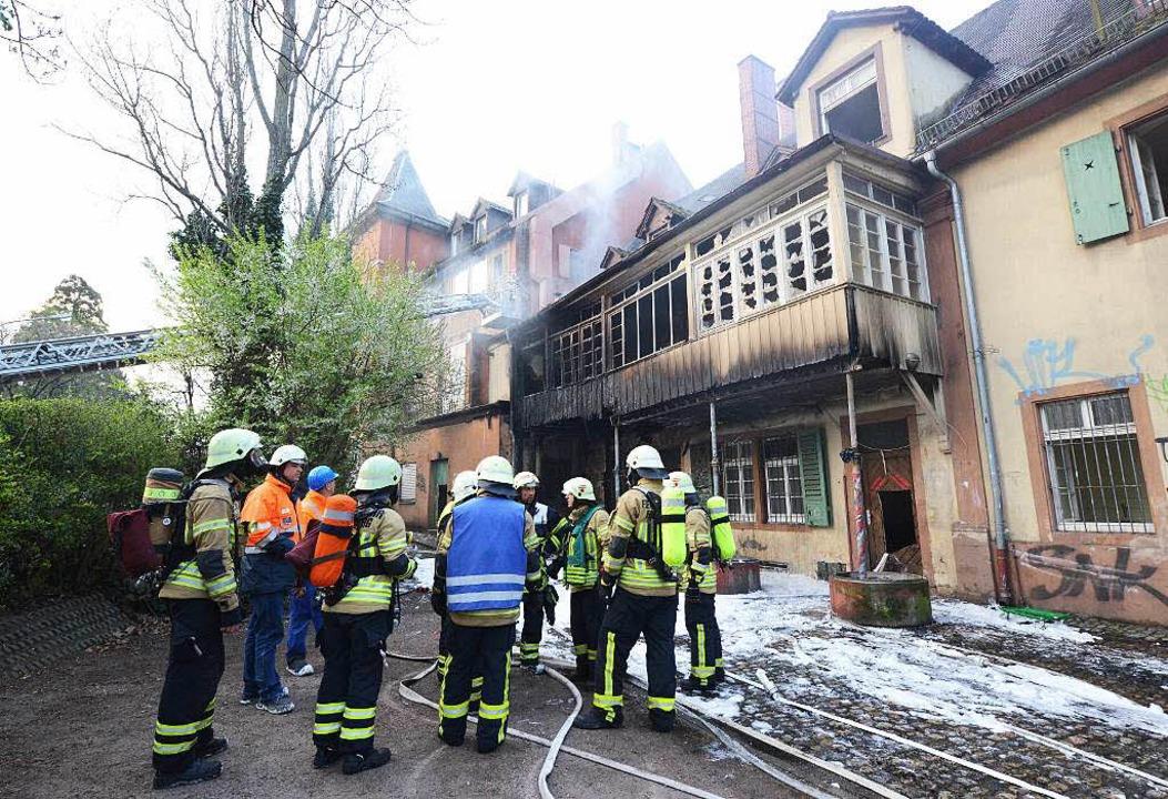 Feuerwehreinsatz in Freiburg  | Foto: Patrick Seeger