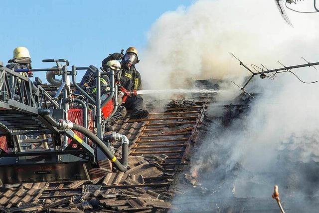 Großbrand in Grafenhausen – hoher Schaden