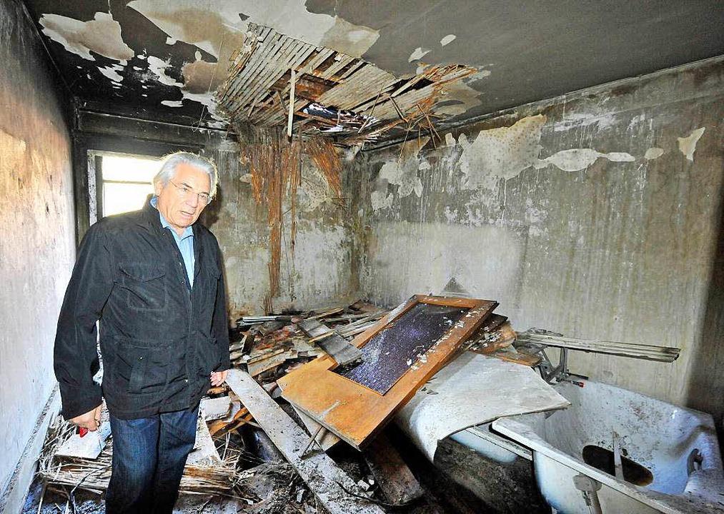 Horst Zahner, Vorstand des Essenstreff, am Montag im Gebäude.    Foto: Michael Bamberger