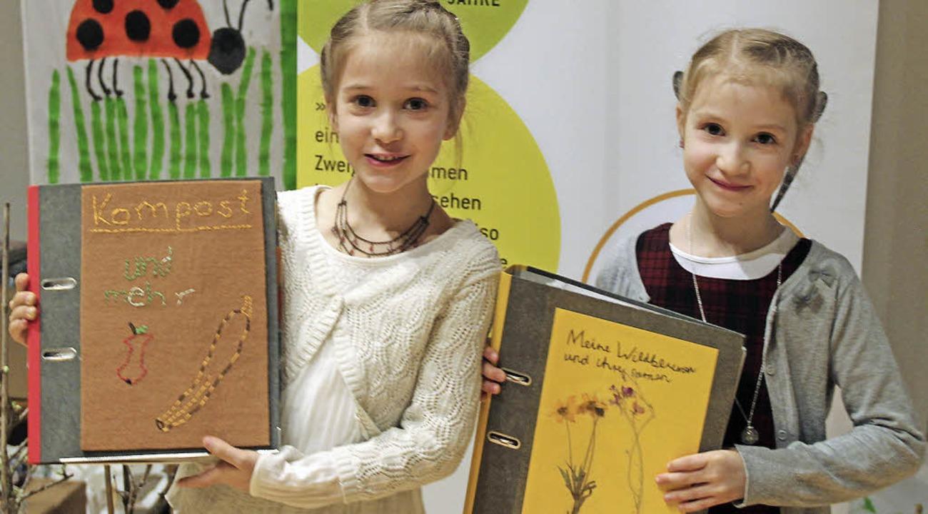 Für ihre Naturtagebücher wurden Myriam...eim mit ersten Preisen ausgezeichnet.   | Foto: Jochen Mack