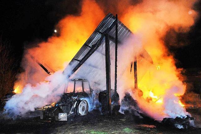 Technischer Defekt war die Brandursache