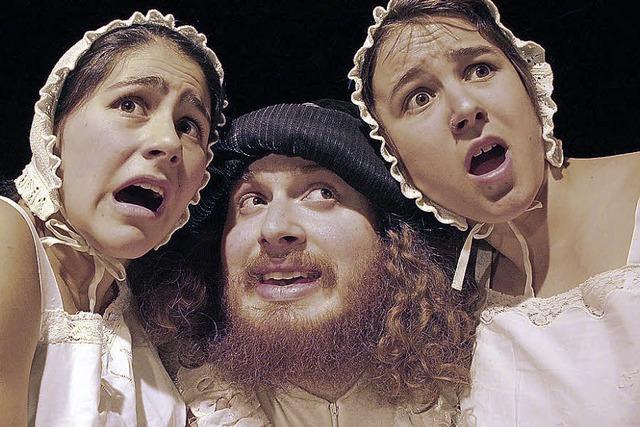 Das Freiburger Theaterensemble Puck mit Molières Stück