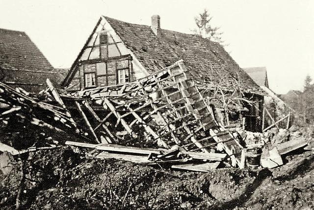 Franzosen besetzen drei Tage das Dorf
