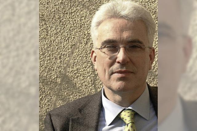 Guido Heinke im Stubenhaus in Staufen