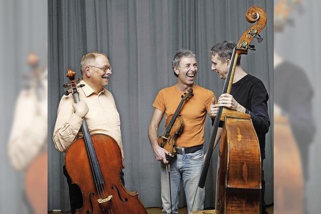 Das Trio Kimmig-Studer-Zimmerlin tritt in der Elisabeth-Schneider-Stiftung auf