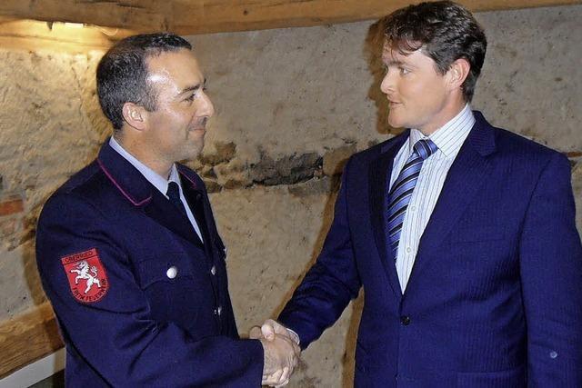 Alexander Jautz neuer Feuerwehrkommandant