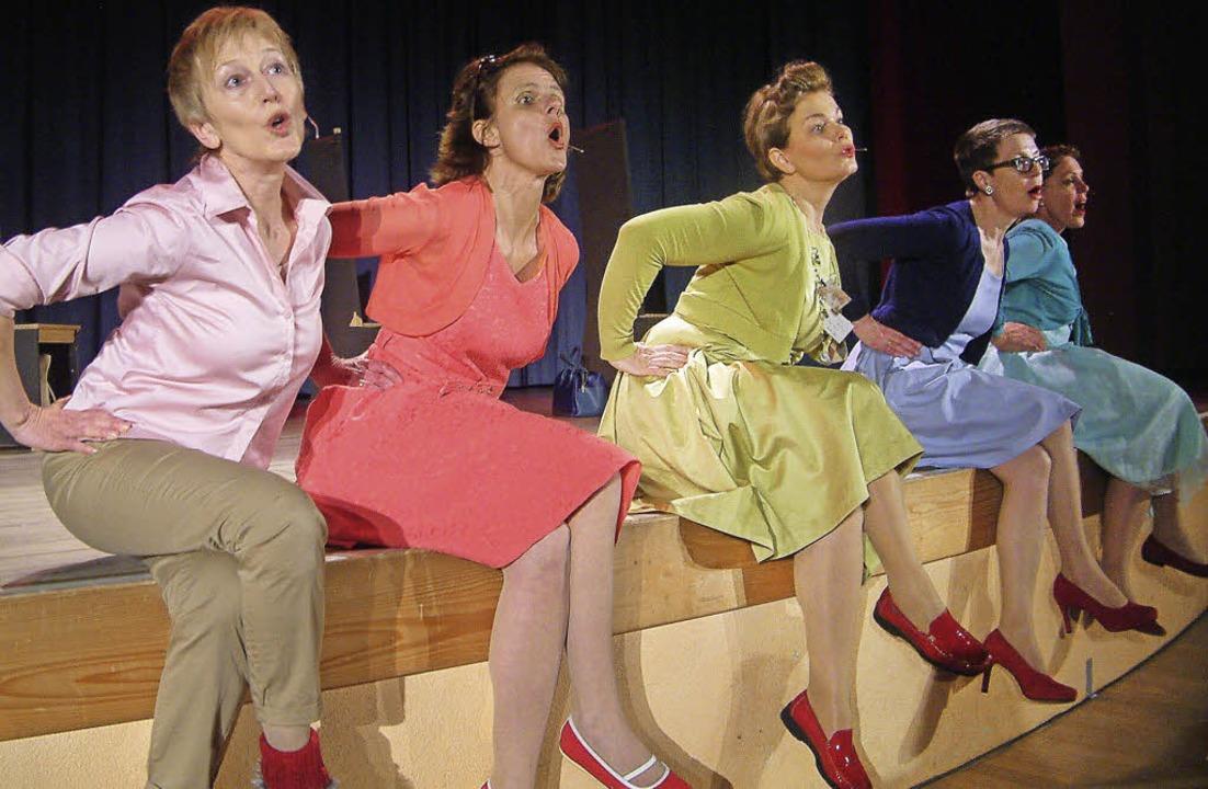 Reiselustige Damen auf Abenteuertour: ...höchst erfolgreiche Premiere feierte.   | Foto: Roswitha Frey