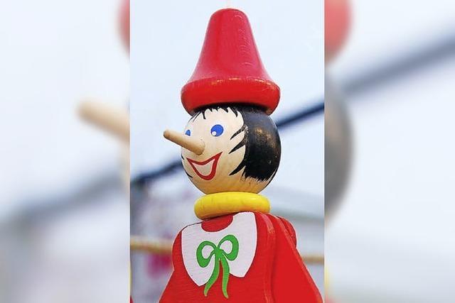 Robin Hood und Pinocchio auf der Bühne