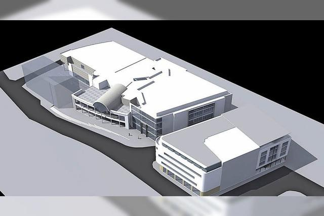 Bauleitplan für Beck-Arkaden