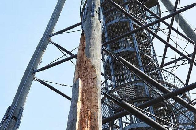 Maroder als gedacht: Eichbergturm muss geschlossen bleiben