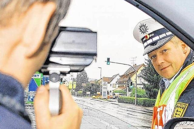 Blitzmarathon in Lörrach an zehn
