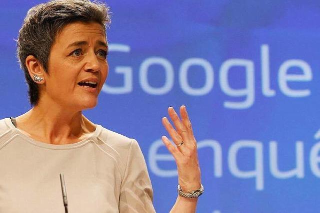 EU-Kommission droht Google mit Milliardenstrafe
