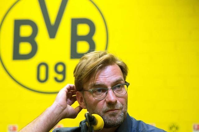 Jürgen Klopp verlässt Borussia Dortmund zum Saisonende