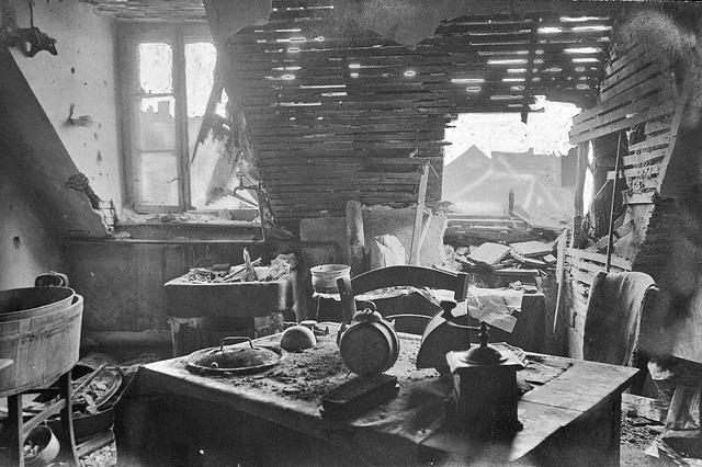 Heute vor 100 Jahren fielen Bomben auf den Stühlinger