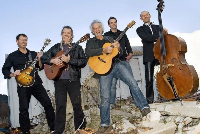 Goschehobel tritt als Quintett in Emmendingen auf