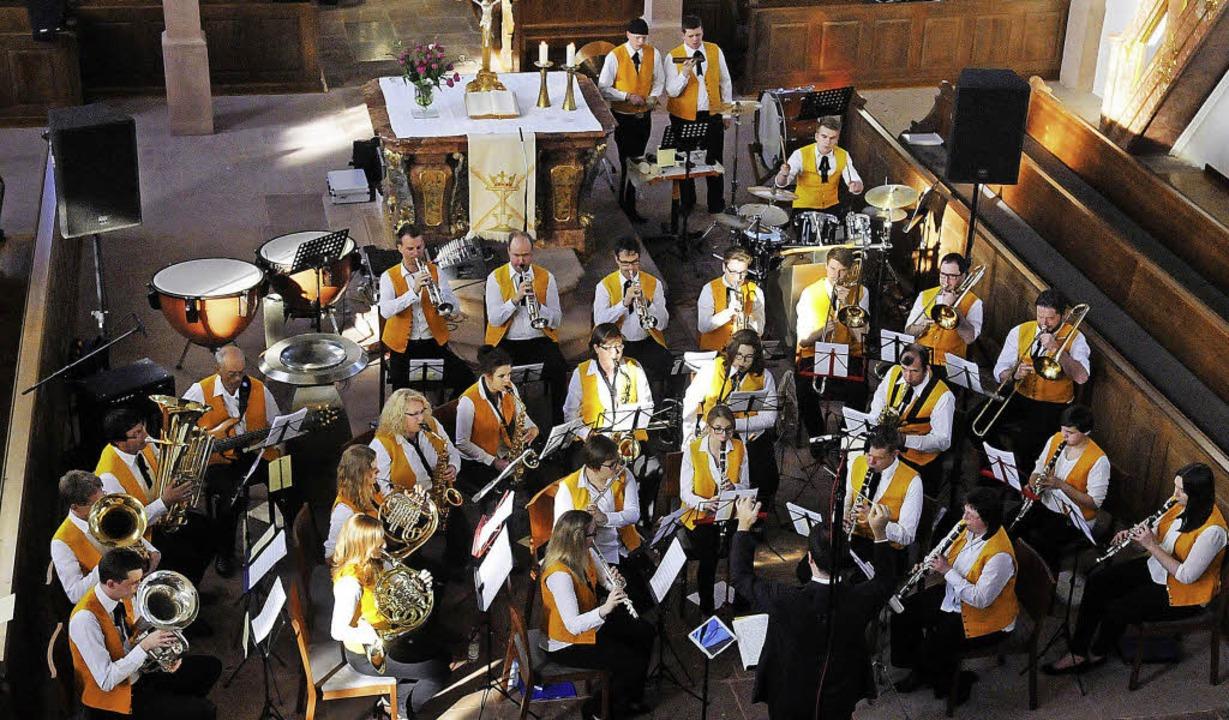 Der Musikverein Meißenheim hat  zum vi...zum Konzert in die Kirche eingeladen.   | Foto: Wolfgang Künstle