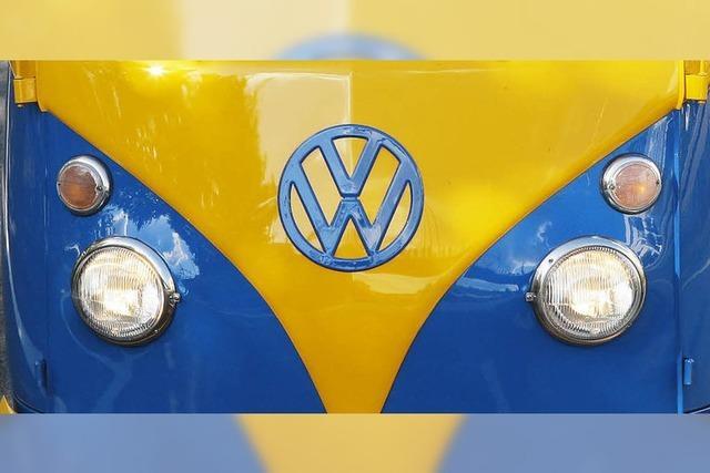 VW-Bulli-Treffen in Kirchzarten