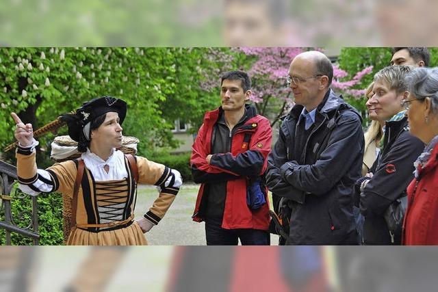 Schauspielführung durch Waldkirch