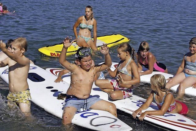 DLRG-Helfer sind bereit für die neue Badesaison