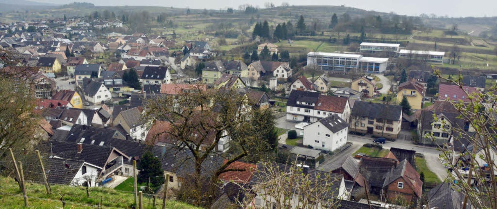 Malterdingen Ortsmitte-West heißt das ...ohl nicht brauchen, alles zu verbauen.    Foto: Dieter Erggelet
